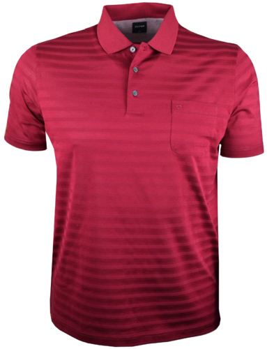 OLYMP Polo, modern fit, Dunkelrot