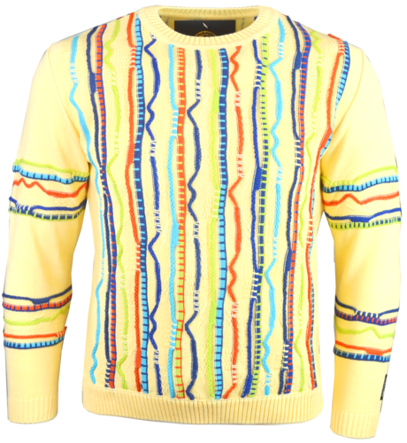 "Paolo Deluxe Goldline Sweater ""Ramon"" Muster all over"