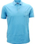 Olymp Pique Polo Shirt, Türkis
