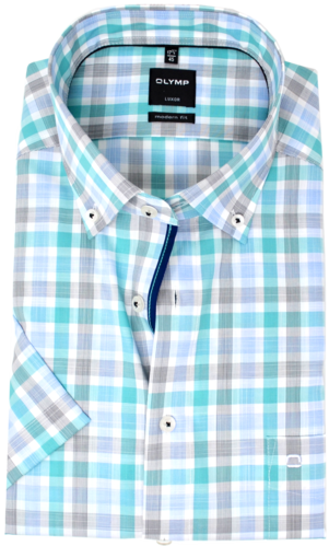 OLYMP Luxor, modern fit, Button-down, Mint
