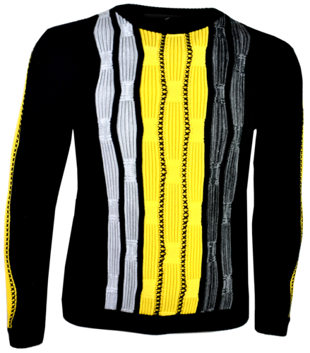 "Expressiver Sweater von Paolo Deluxe Modell ""Snake"""